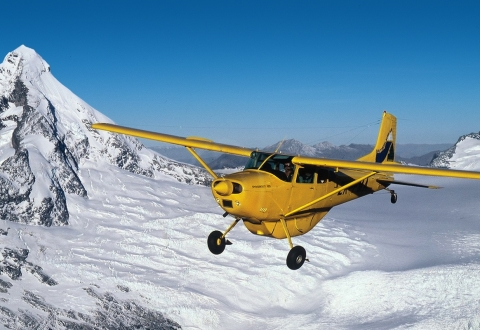 Southern Alps Air Mt Asp + glacier
